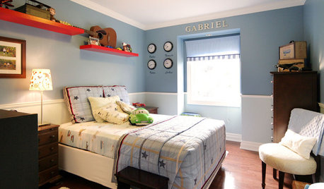 Can't Choose Between Two Paint Colours? Consider Two-Toned Walls