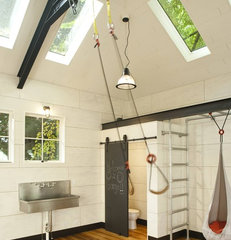 traditional garage and shed by Menter Architects LLC