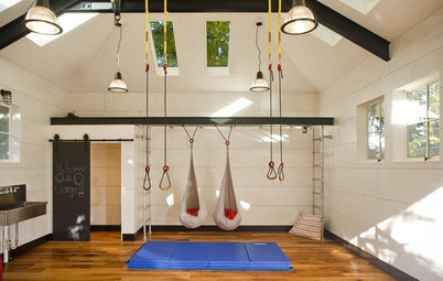 Houzz Tour: From Garage to Play Pavilion in Seattle