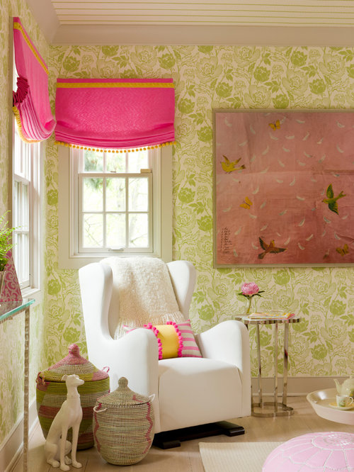 Lime Green And Pink Home Design Ideas, Pictures, Remodel