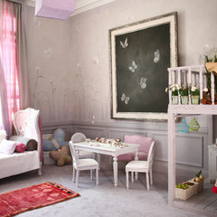 traditional kids girl room