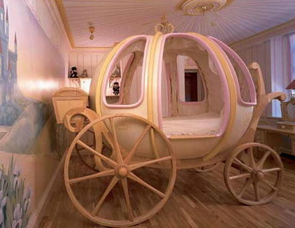 Contemporary Kids Girl's $48,000 Carriage Bed2