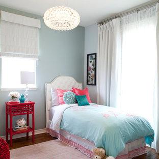 Tiffany Blue Aqua And Pink Girls Bedroom   Houzz