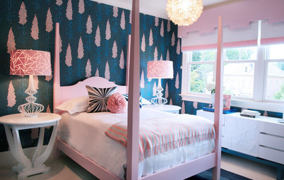 Girly Modern Bedrooms Delight Three Young Sisters