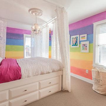 Girls Bedroom After