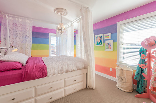 Transitional Kids by Massey Real Estate and Interiors