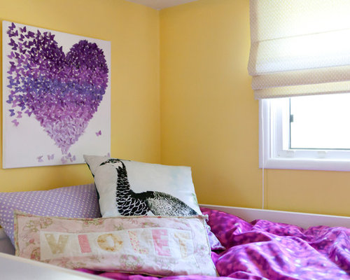 yellow and purple bedroom ideas pictures remodel and decor