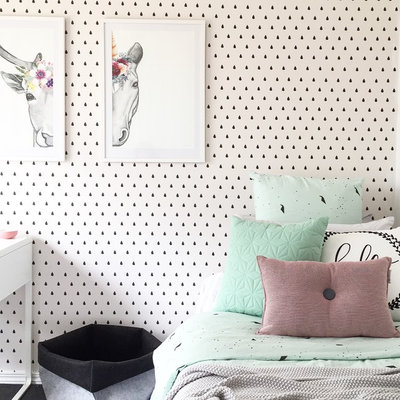 Contemporary Kids by BC Magic Wallpaper
