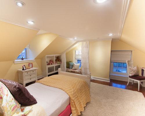 landhausstil m dchenzimmer mit gelben w nden ideen. Black Bedroom Furniture Sets. Home Design Ideas