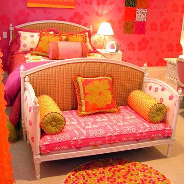 Girls Custom Bedroom