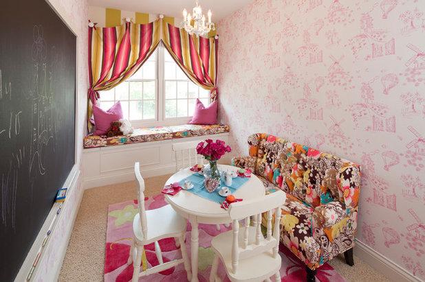 Traditional Kids by Reusch Interior Design