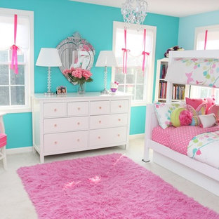 Inspiration for a contemporary kids' room remodel in Boston