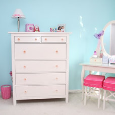 contemporary kids Girls Room