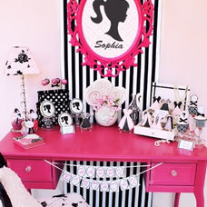 Eclectic Kids Girls Room