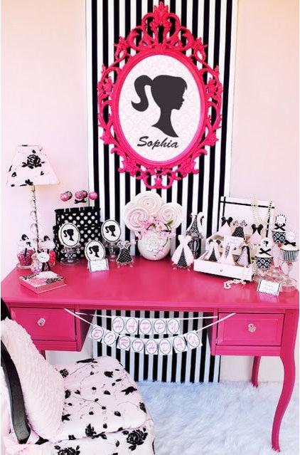 Eclectic Kids Girls Room