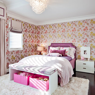 Girls Room Wallpaper | Houzz