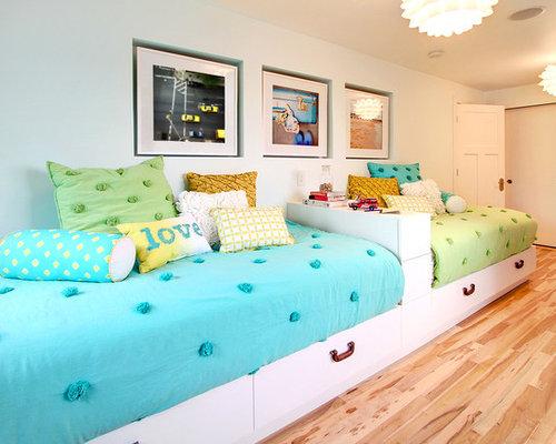 Girls travel theme bedroom for Cuarto 3x3 metros