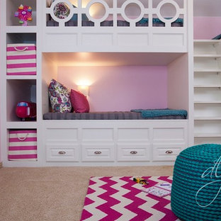 Girly Play Room with Bunkbeds | Frisco, TX