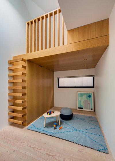 Contemporain Chambre d'Enfant by Nobbs Radford Architects