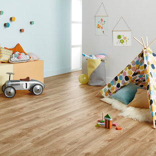 Example of a cottage chic kids' room design in Geelong