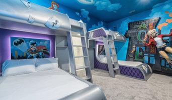 Golden Bear - Custom Kids Bedroom