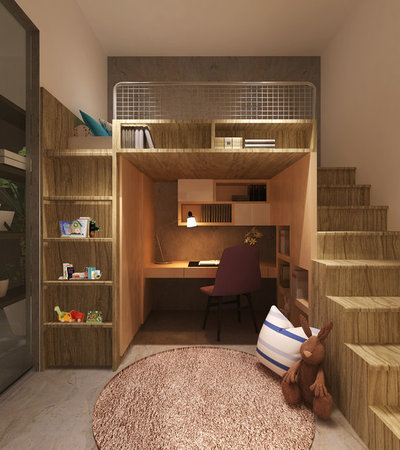Modern Kinderzimmer by GA+Partners