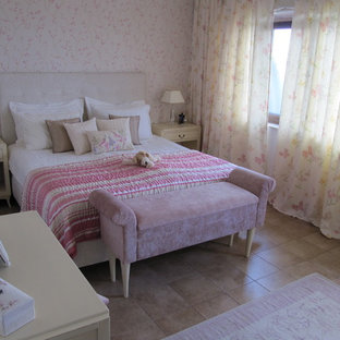 Trendy girl kids' room photo in Other