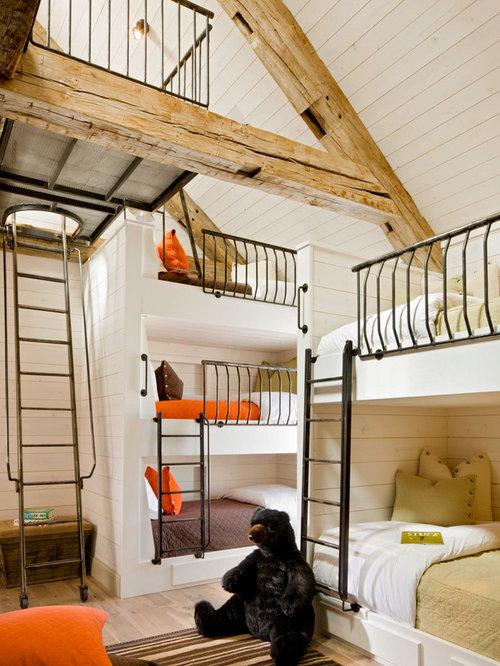 Chambre d'enfant triple-Decker porches : Photos et idées déco de ...