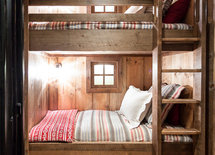 Where can I find bedding like both the top and bottom bunk?