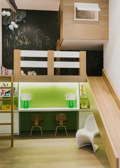 Contemporain Chambre d'Enfant by Raad Studio