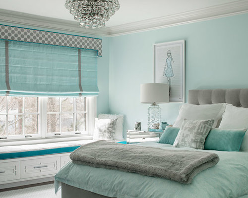 bedroom ideas for teenage girls blue. Kids  Room Mid Sized Transitional Girl Carpeted And Gray Floor Kids Teenage Girls Bedroom Ideas Houzz