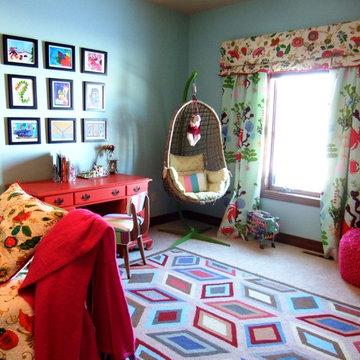 Happy Glamorous Girls Bedroom