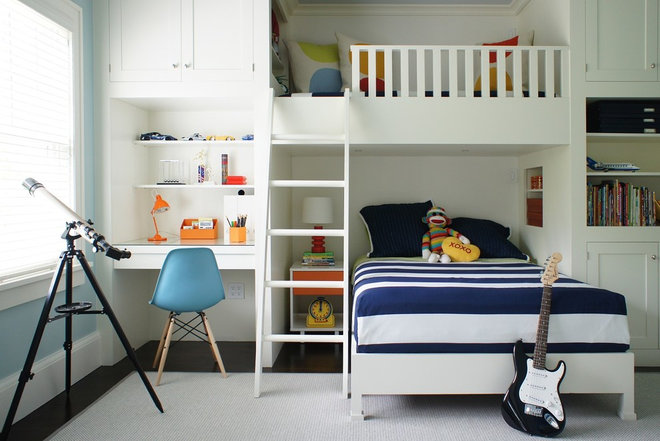 Contemporary Kids by Christopher Burns Interiors