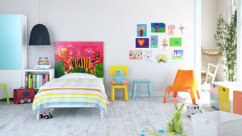 Headboard for kids bedroom