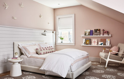 Sophisticated Girl's Bedroom Perfect for Now and Later