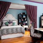 Nyc Inspired Teen Room Contemporary Bedroom New York