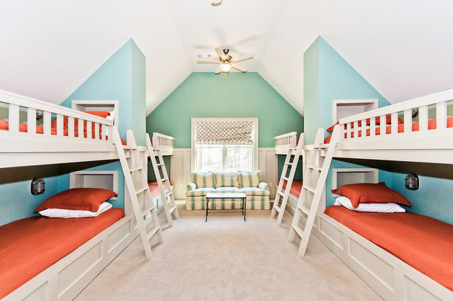 Traditional Kids by Blue Door Homes
