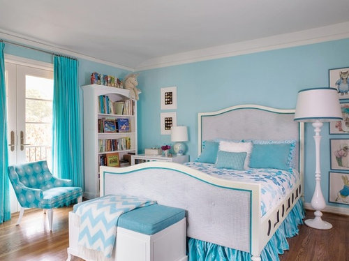 Blue Colour Combination For Bedroom Sistem As Corpecol