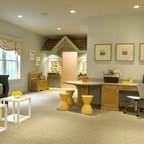 Children S Playroom Traditional Kids New York By
