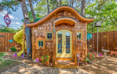 Calling All Hobbits! This Playhouse Is Fit for Middle-Earth Adventure