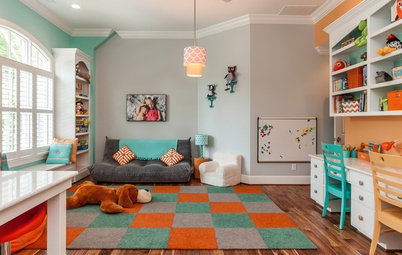 Room of the Day: Colorful and Organized Kids' Playroom