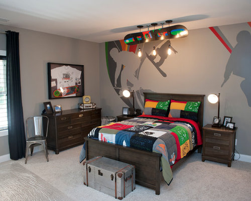 Skateboard Bedroom skateboard theme | houzz