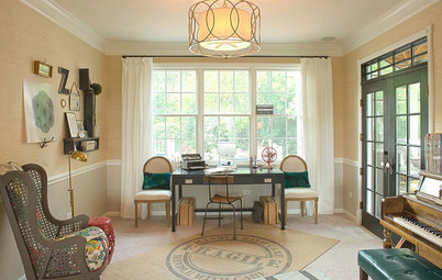 Who Says a Dining Room Has to Be a Dining Room?