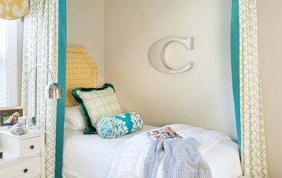 Room of the Day: Color and Pattern Transform Tweens' Bedroom