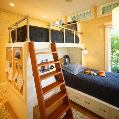 Kids' room - traditional boy kids' room idea in Boston