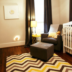 contemporary kids by Marie Flanigan Interiors
