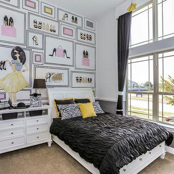 Houston, Texas | Falls at Green Meadows - Classic Villanova Secondary Bedroom
