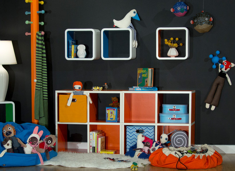 Contemporary Kids Houzz Products: A Most Colorful Kids' Space