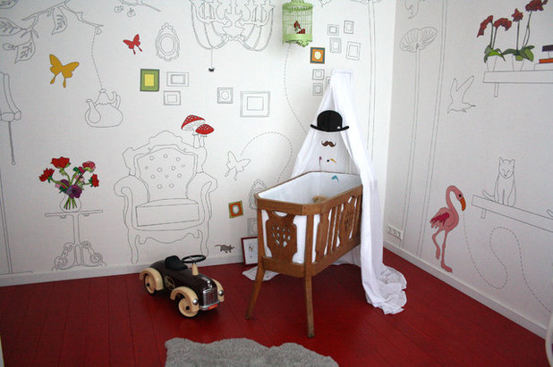 Éclectique Chambre d'Enfant by Holly Marder