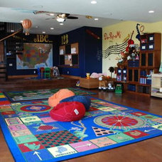 Eclectic Kids Huge Playroom